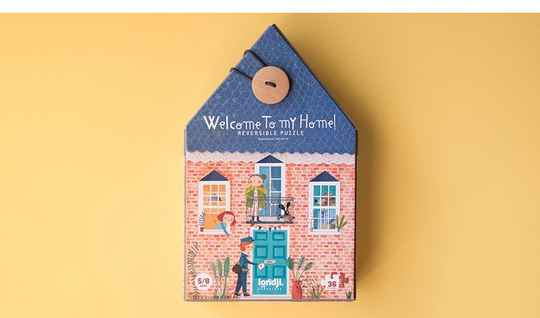 Londji Welcome home reversible puzzle