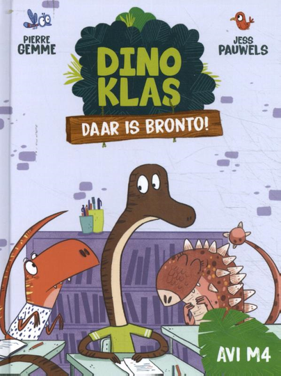 Dinoklas. Daar is Bronto! AVI M4