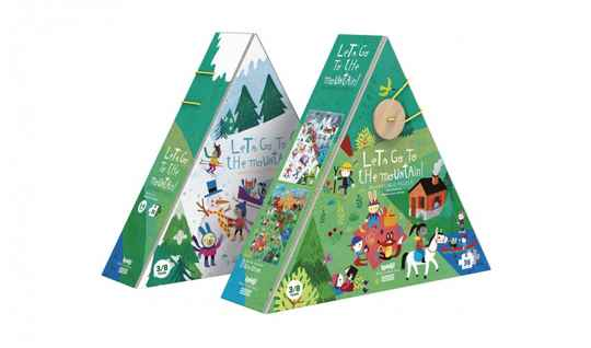 Londji. Let's go to the mountain puzzle reversible