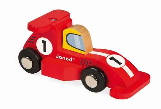 Janod. Racing formule 1 rood of zilver