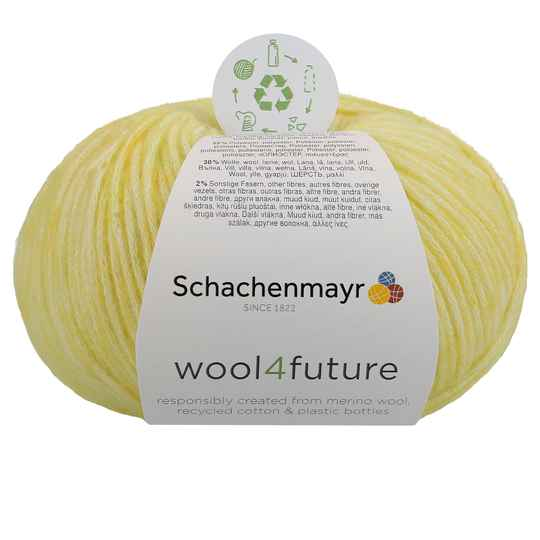 Sch. Wool 4 Future kl 020 geel