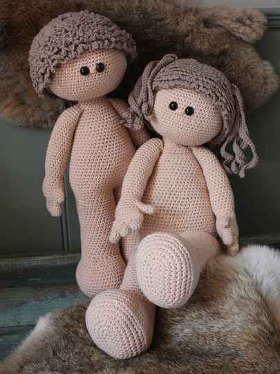 XXL Funny Doll basic (zittend of staand)