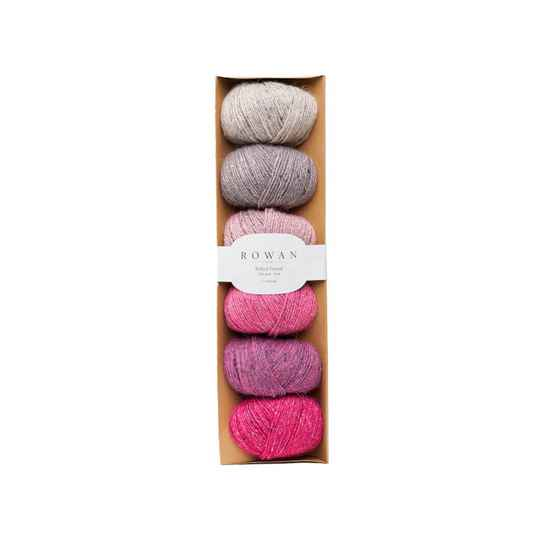 felted tweed pink fade pack