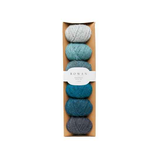 felted tweed blue fade pack