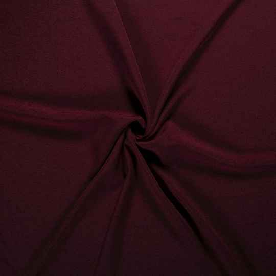 French Terry uni Recycled 14451/018 Bordeaux