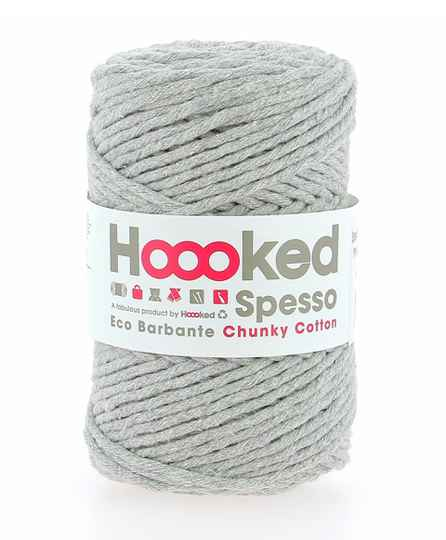 HOOOKED SPESSO CHUNKY COTTON GRIS 40222