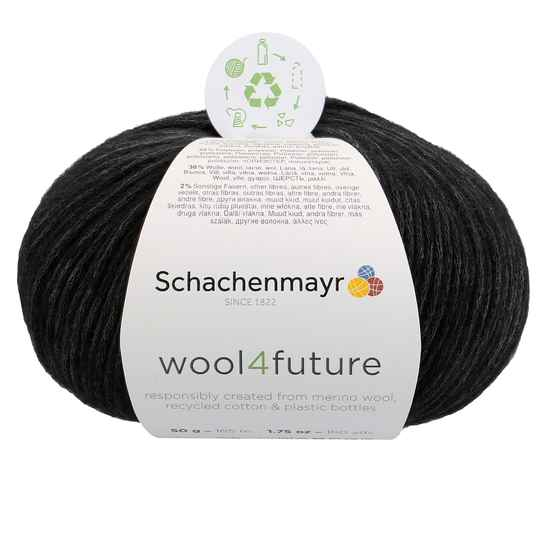 Sch. Wool 4 future kl 099 zwart