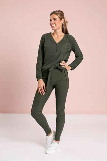 Studio Anneloes - Margot trousers - green