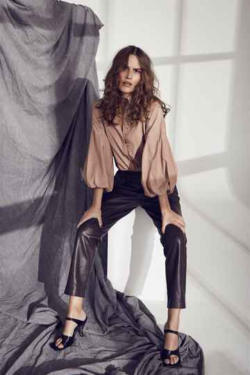 Co 'couture - Shiloh crop leather pant