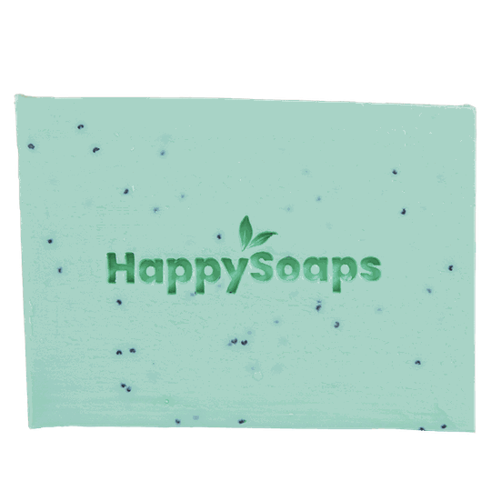 HappySoaps Happy Body Bar Tea Tree en Pepermunt