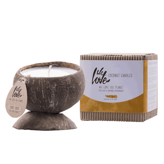 We Love Coconut candle Cool Coco | geurkaars