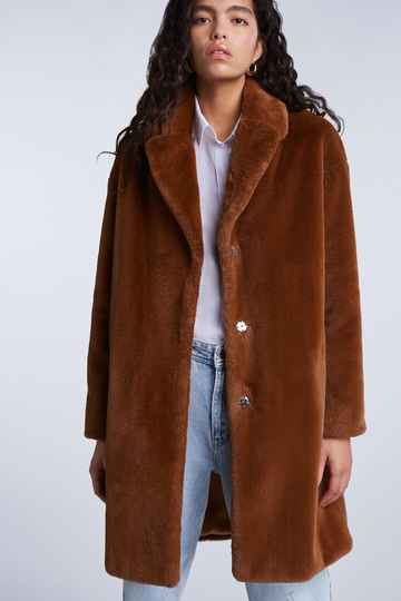 SALE | SET Fashion | Jas oversized fake fur