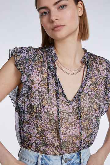 Set Fashion | Blouse | Bloemenprint