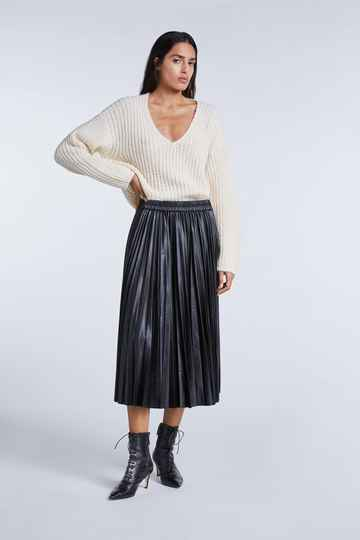 SET Fashion | Midi Plisse skirt