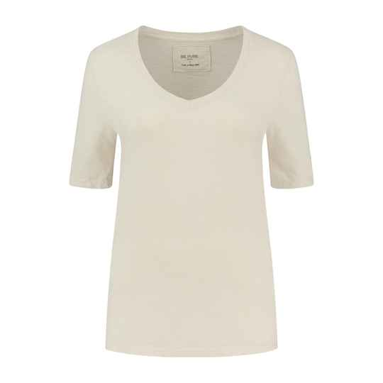 Be Pure | T-Shirt V-Neck | Sand