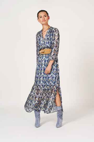 Dante 6 | Bardon Aztec print long Dress
