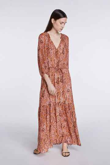 Set Fashion | Bohemian maxi dress | Paisley print