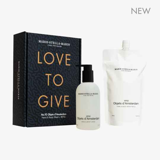 MARIE-STELLA-MARIS | No.92 Objets d'Amsterdam | LOVE TO GIVE - Gift Set (met Refill)