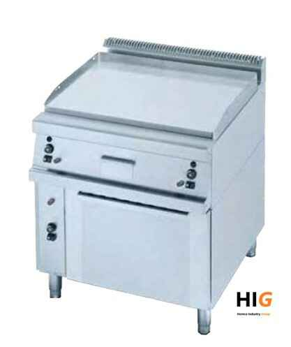 Frytop CrD.15mm - GN 2/1 oven - Line 750 - GAS - 800mmBreed - Glad  - 203624H