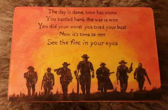 Memory chest: See the fire in your eyes