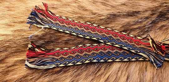 Tablet braided Bookmark 001