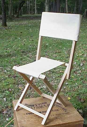 Chair with back rest
