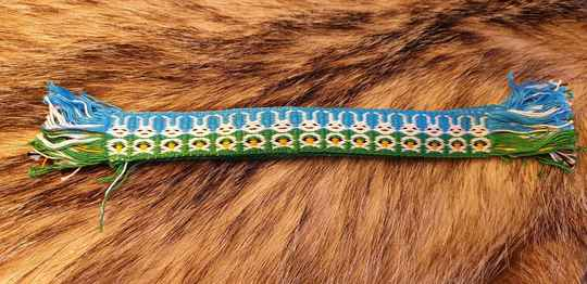 Easter Tablet braided Bookmark 005