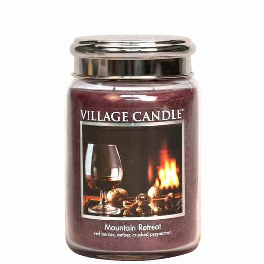 Mountain Retreat Large Candle