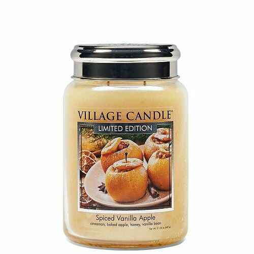 Spiced Vanilla Apple Large Candle
