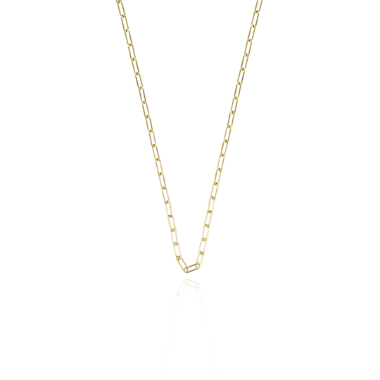 Gouden closed forever XXS schakelketting | LOTT.Gioielli Necklaces