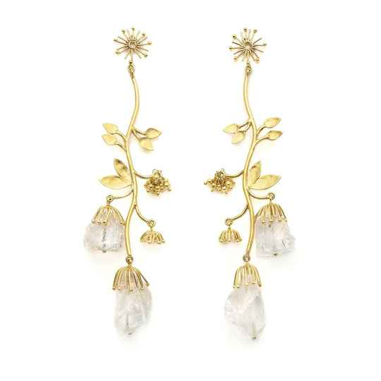 Iceflower Large | Christine Bekaert Earring