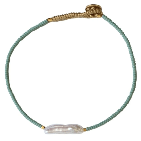 Princess Pearl Sea Foam | IBU bracelet