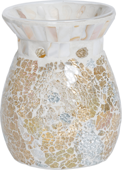 Gold & Pearl Crackle Melt Warmer