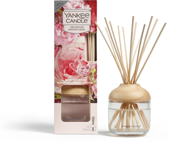 Fresh Cut Roses Reed Diffuser 120 ml - NEW