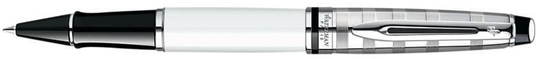 Waterman, Expert Deluxe White, RollerBall, S0952420