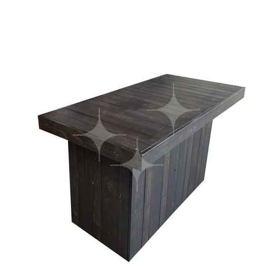 100% Natural Dark buffet 160x80