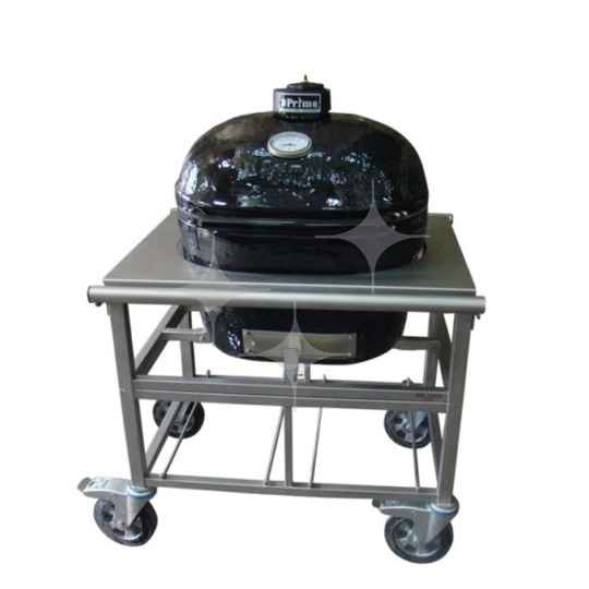Primo grill ovale barbecue op RVS onderstel