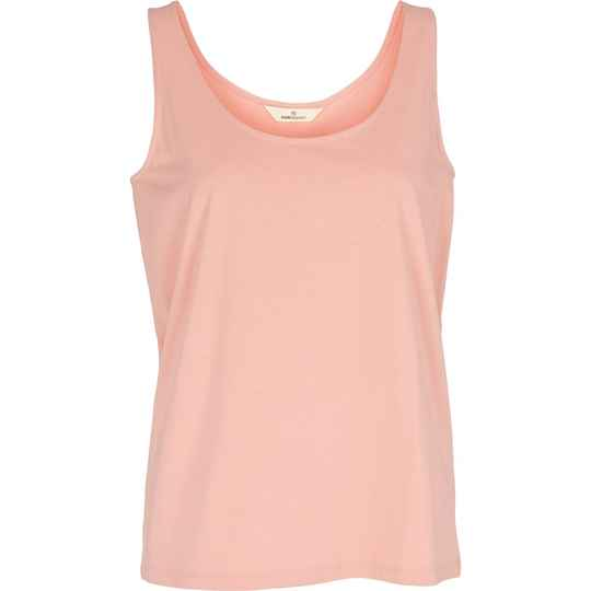 Basic Apparel Rikke tank - organic Gots Rose Tan