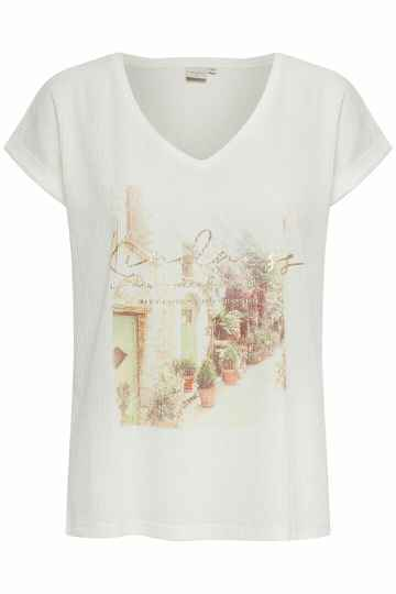 Cream Matilde T-shirt snow white
