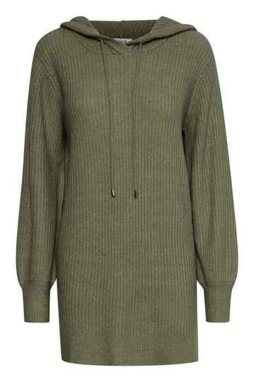 B.Young Nora knit hoodie olive