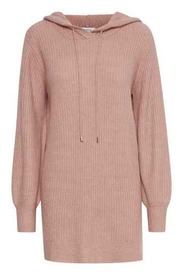 B.Young Nora knit hoodie roze
