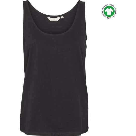 Basic Apparel Rikke tank - organic Gots Black