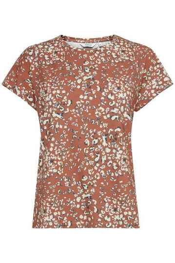 b.young Umalli Leo T-shirt etruscan red mix
