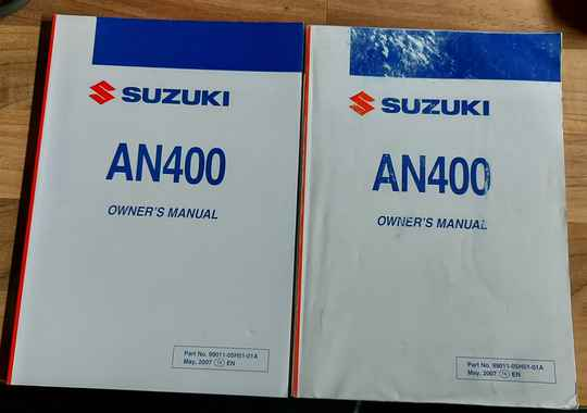Owner's manual - 9901105H5101A - AN400