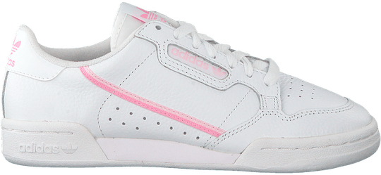 adidas continental white pink