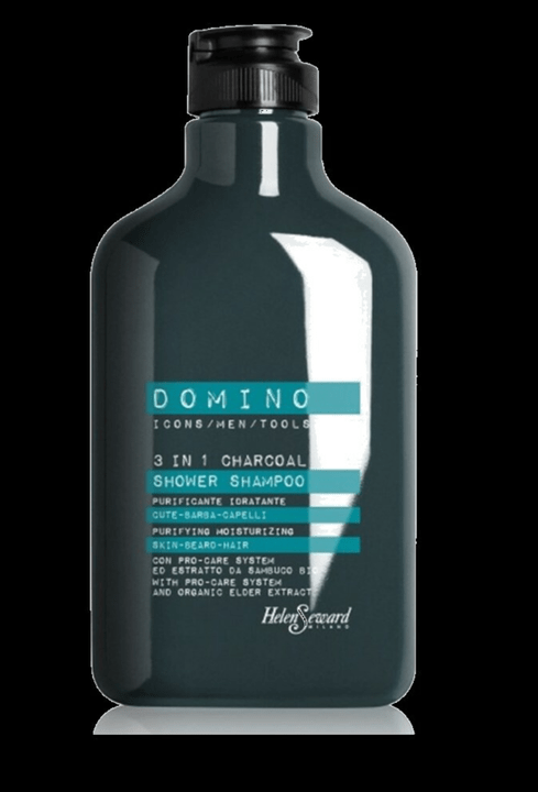 DOMINO 3 IN 1 CHARCOAL SHOWER SHAMPOO