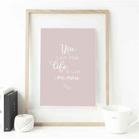 Poster - You gave Your life