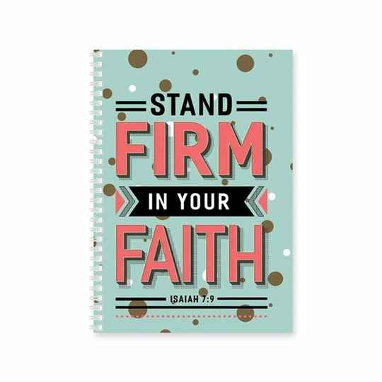 Journal - Softcover - Stand firm
