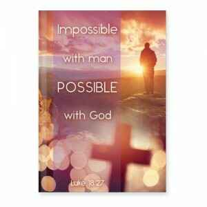 Dagboek - Hardcover - Possible with God