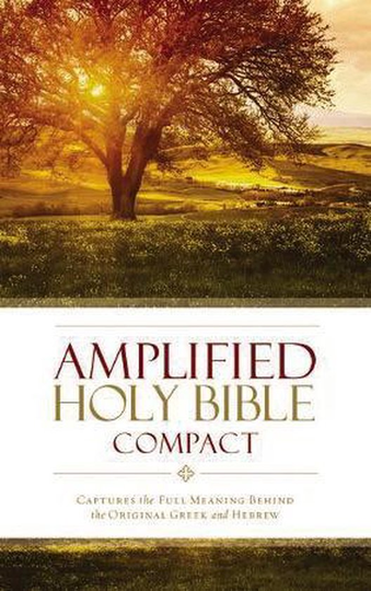Amplified Holy Bible, Compact, Hardcover Captures the Full Meaning Behind the Original Greek and Hebrew
